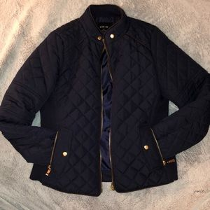 Active USA navy puffer jacket